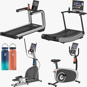 3D Cardio Machines Collection model