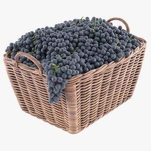 3D Grape basket