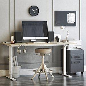 office home 3D model