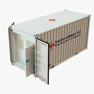 er container medical 3D model