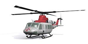 3D Medical helicopter model