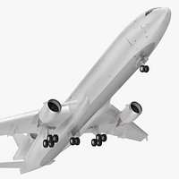 McDonnell Douglas MD11 Tri Jet Wide Body Airliner Rigged