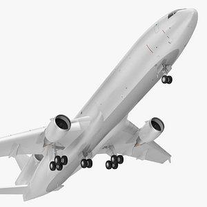 McDonnell Douglas MD11 Tri Jet Wide Body Airliner Rigged 3D model