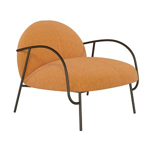 Half Arm Chair model