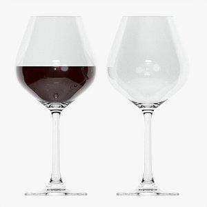 3D Wine glass 05