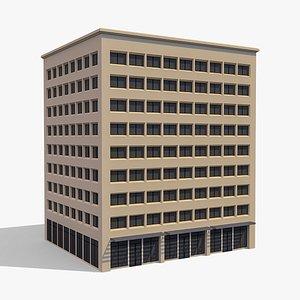 3D Commercial Building 003