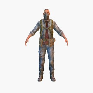 3D banditv15 rigged