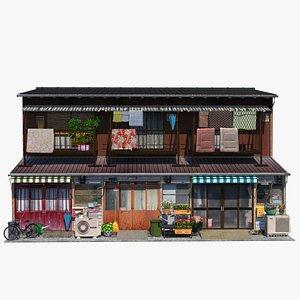 3D Nagaya House