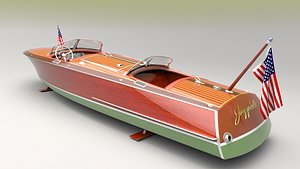 runabout 1936 3D model