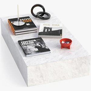 Plinth Coffee Table 3D model