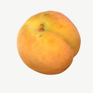 3D model 03 hy apricot fruit