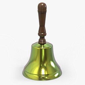 3d model handbell bump