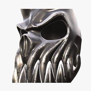skull helmet 3D