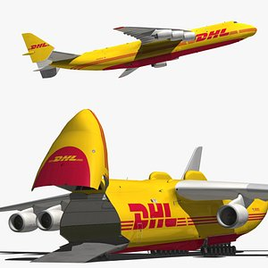 3D Antonov An225 DHL