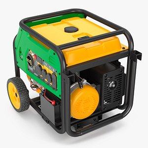 3D Portable Tri Fuel Generator