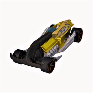 3D model Rat-Ified Hot Wheel