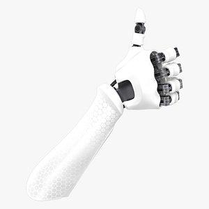 Robot Hand 8 model