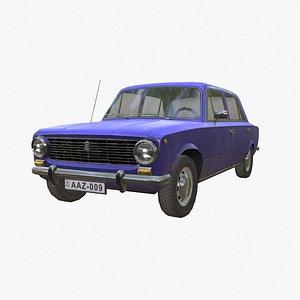 3D lada car vehicle model