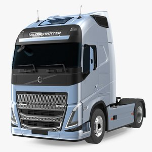 Volvo FH16 750 Globetrotter Truck Exterior Only 3D model