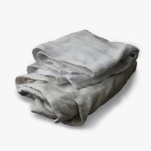 3D folded towel