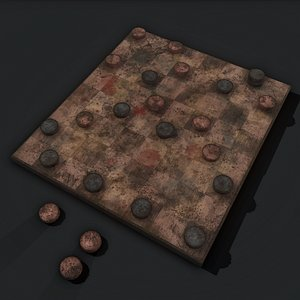 Medieval Checkers 3D
