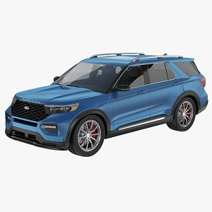 Ford Explorer 2020 3D
