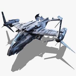 thunderbolt - 3D model