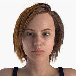 3D model woman female characters