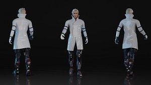 3D Doc 3D Rigged Model model