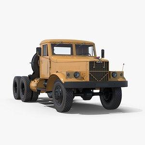 kraz truck soviet 3D model