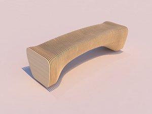 3D parametric bench - 11