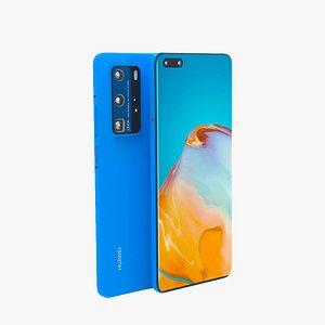 3D Huawei p40 pro Free model