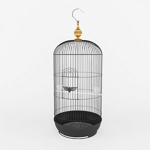 3D bird cage model