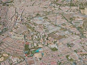 Jerez de la Frontera City model