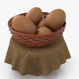 cup egg 3D model