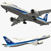 Boeing 787 Ana Airways