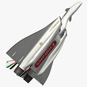 DRAKO Emirates Airlines 3D model