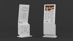 information kiosk 3D