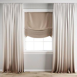 3D Curtain195 model