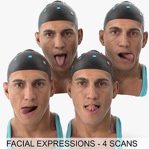 mike clean scans tongue 3D