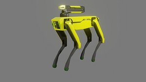 Boston Dynamics Dog with Arm - Low Poly PBR- Game Ready 3D
