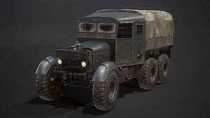 3D Scammell Pioneer model