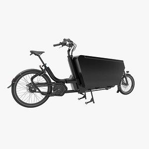 Urban Arrow black cargo 3D model