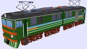 3D wl8 electric locomotive vl8