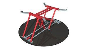 Car and ATV Lift 3D