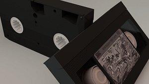 vhs cassette 3D model