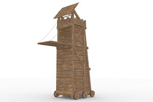 Medieval Siege Tower 3D
