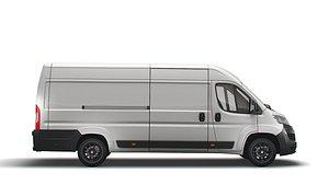 3D model Vauxhall Movano Van L4H2 2022
