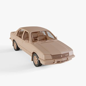 1980 Holden Commodore VC 3D
