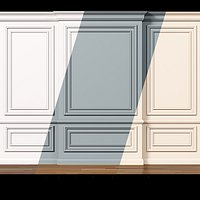 Wall molding 7 Boiserie classic panels